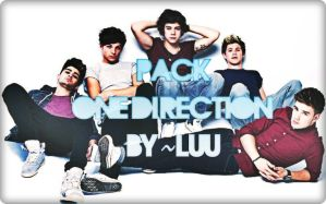 PACK ONE DIRECTION by LuuEditionsSwag
