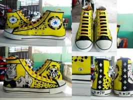 Trafalgar Law converse shoes customize by Elison182