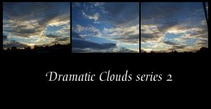 Dramatic Clouds collection 2 by Hermit-stock