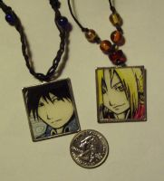 FMA Pendants by ChildOfPuck