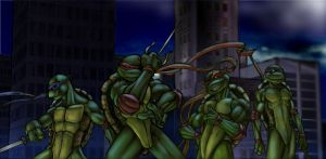 T.U.R.T.L.E. POWER TMNT by FooRay