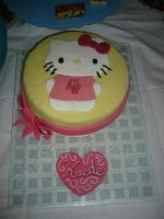 Hello Kitty Cake by mike-a