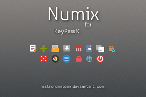 KeePassX Numix Icons by Astronommican