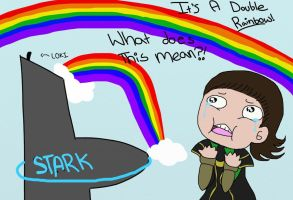 It's a double rainbow Loki by BeyondBirthdayBB