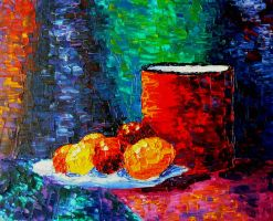 Still life with fruits by LaCelta