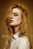 Molly Colorization challenge enty by HayleyGuinevere
