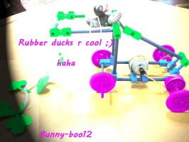 Rubber duck by Bunny-Boo12
