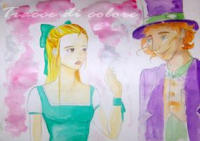 Alice and the Mad Hatter by ElisaTogni