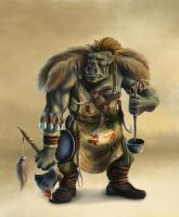 Orcish Chef by Elderscroller