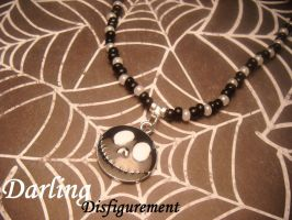 jack skellington necklace by leggsXisXawsome