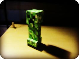 All Alone Papercraft Creeper by XRallemangafreak