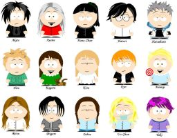 South Park Meets Furits Basket by Risika303