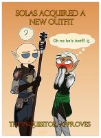 DAI: The Inquisitor Approves by LiliumSnow