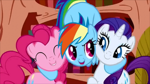 Cutie Rainbow Dash  Pinkie Pie and Rarity by DurpyHoofs