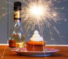 Happy-New-Year-Cupcakes by Cailleanne