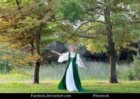 Forest maiden - Stock Model Reference 10 by faestock