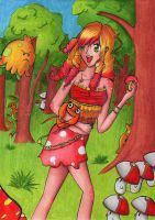 Shrooms by Elythe