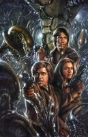 BSG Aliens by chrisscalf