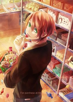 A shelf full of sweets by Lancha