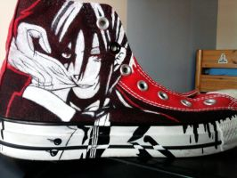 My old converse - WIP4 by lalocaven
