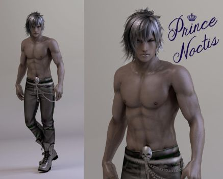FFXV.:Prince Noctis by MinnieMints