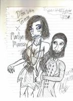 Young Manson and Dita by Arttt225