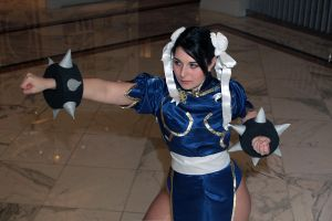 "Chun Li- ""The True Otaku"" by DustbunnyCosplay"