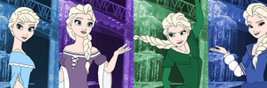 Elsa Color Spectrum by SelenaEde