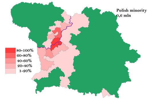 Polish minority in Lithuania and Belarus by Samogost