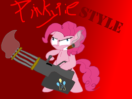 if Pinkie Pie plays Call of Duty:Black Ops 2... by Hyperwave9000