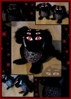 Alucard soft toy dog by Pater-Abel-Nightroad