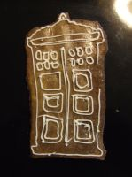 TARDIS gingerbread by Abystoma