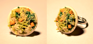 Caesar Salad Ring by 4Seconds