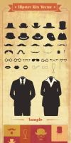 Hipster-Kits-Vector by w4y