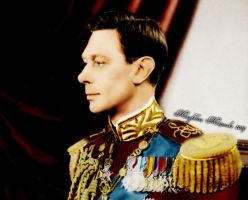 George VI by GuddiPoland