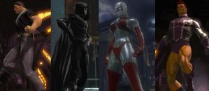 DCUO Characters by SAB1113