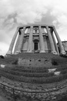 Roman forum by AuroraxCore