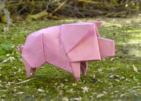 Little pig - Cerdito by Figuer