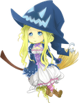 Blonde Witch by Vether