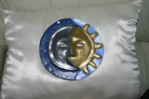 Sun and the Moon by Tephny