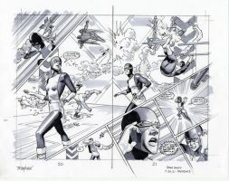 X-Men Jean Grey p20,21 prelim by mikemayhew