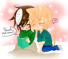 PewdieCry - Kitty Love by Kyun-Sein