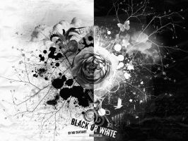 Black or White wallpaper 2 by MrDeathArt