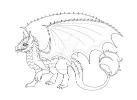 Lava-lace redesign - Inked by Ashen-Phoenix