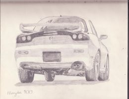 Nissan RX7 by arexkrowdafuppy