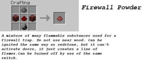 MC Idea - Firewall Powder by Serkonus