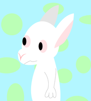 Daily Paint #4 - Rabbit by Red-Rat-Writer