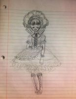 Quick Lolita sketch by VanityElric