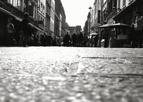 Soho at ground level by DR1983