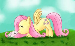 Fluttershy by GlassesCat